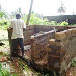 Latrine construction for the Kings